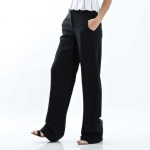Pantalona De Crepe Black