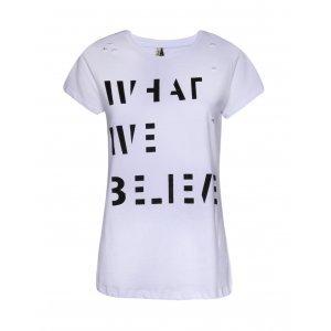 Camiseta Feminina Rasgos Strass