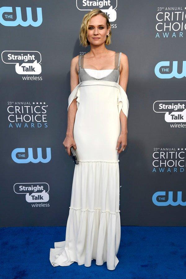 Diane Kruger veste Vera Wang