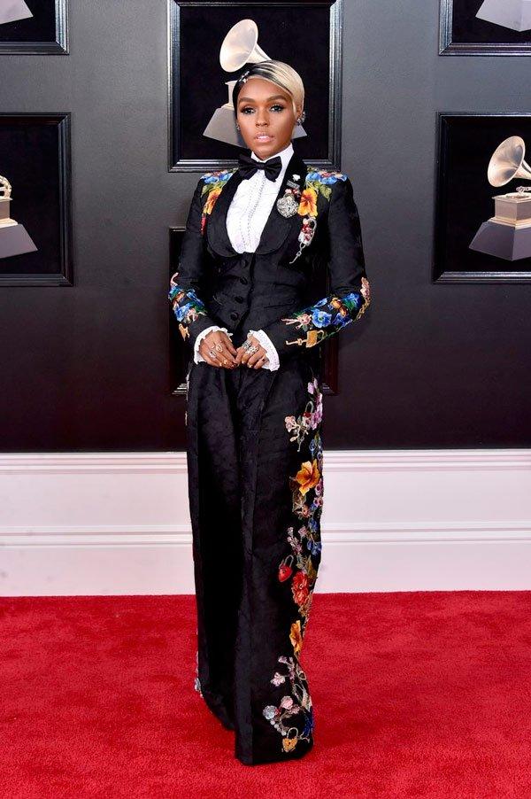 Janelle Monae veste Dolce & Gabbana