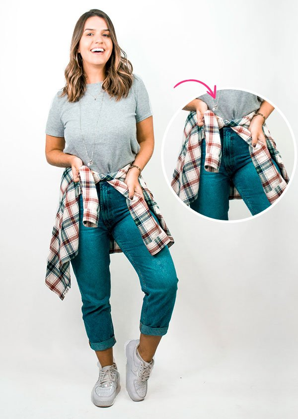 10 Maneiras De Dar Um Up No Jeans e T-Shirt