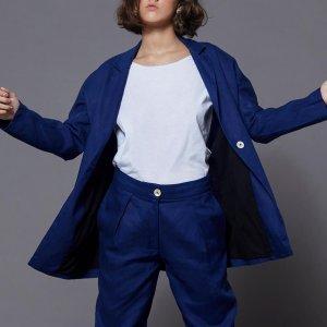 Blazer Oversized Blue Tamanho: M - Cor: Azul