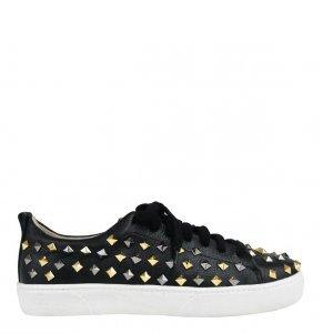 Sneaker Black Studded