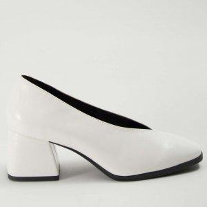 Preview Sapato V Verniz Branco Tamanho: Branco - Cor: 35