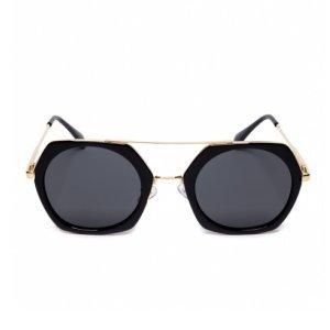 Óculos De Sol Redondo Geométrico