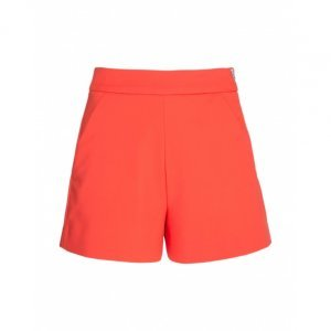 Shorts De Alfaiataria Com Bolsos