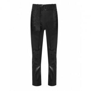 Calça Skinny Leather Com Cinto