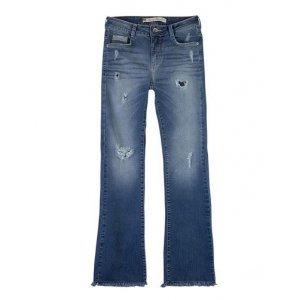 Calça Jeans Feminina Na Modelagem Flare Petit
