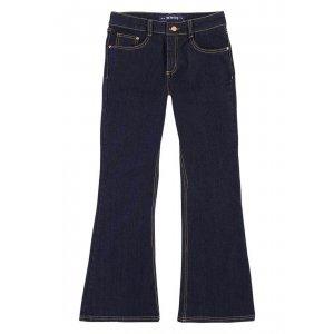 Calça Jeans Feminina Hering Flare Petit Com Elastano