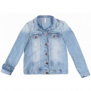 Jaqueta Jeans Em Lavação Tradicional