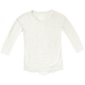 Sweater Em Tricot Com Detalhe Nas Costas