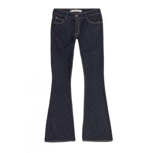 Calça Jeans Feminina Flare Petit Em Algodão