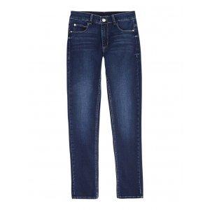 Calça Jeans Feminina Super Skinny Com Cintura Intermediária