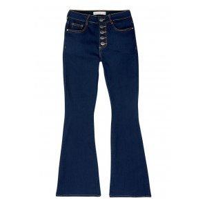 Calça Jeans Na Base Veneza Com Botões