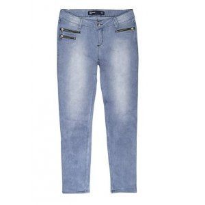 Calça Jeans Veludo Feminina Na Modelagem Skinny