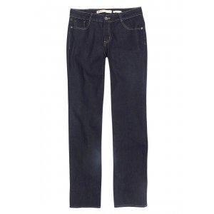 Calça Feminina Regular Em Jeans Com Bolsos
