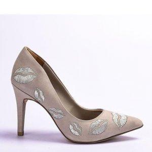 Sapato Tanara Scarpin Cinza