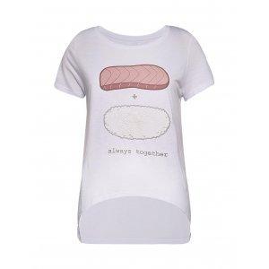 Camiseta Feminina Assimétrica Niguiri