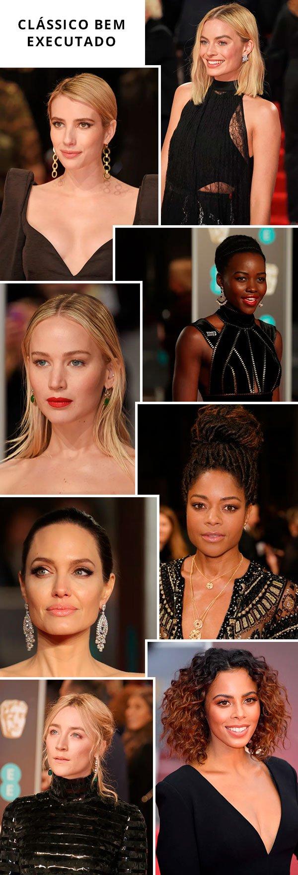 Os Melhores Looks e Makes do BAFTA