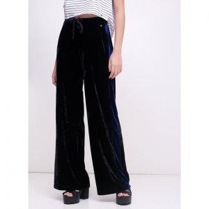 Calça Pantalona Em Veludo