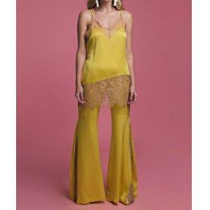 Conjunto Maria Clara Tamanho: Pp - Cor: Amarelo