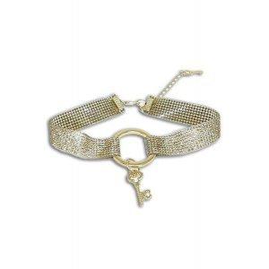 Choker Royal Belle Tamanho: U - Cor: Dourado