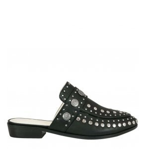 Loafer Beta Black Studded Tamanho: 40 - Cor: Preto