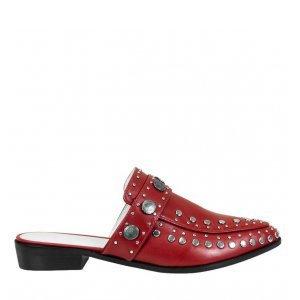Loafer Beta Red Studded Tamanho: 36 - Cor: Vermelho