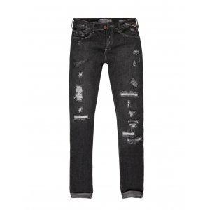 Calça Jeans Feminina Rasgada