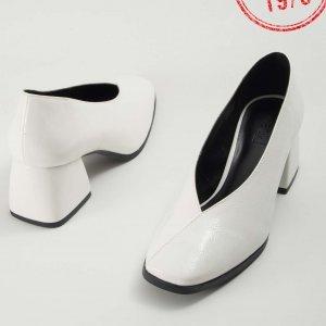 Preview Sapato V Verniz Branco Tamanho: Branco - Cor: 37