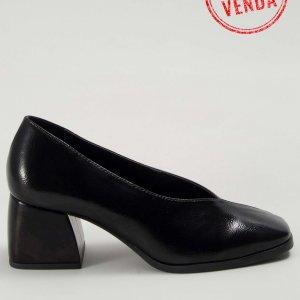 Preview Sapato V Verniz Preto Tamanho: 39 - Cor: Preto