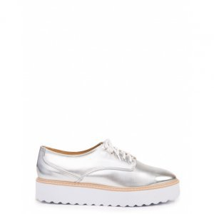 Oxford Feminino White Sole