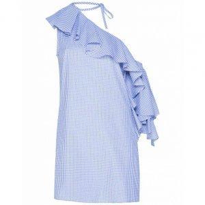 Vichy Chess Print Dress