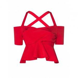 Blusa Cropped Malha Estruturada