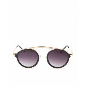 Óculos De Sol Redondo Detalhe