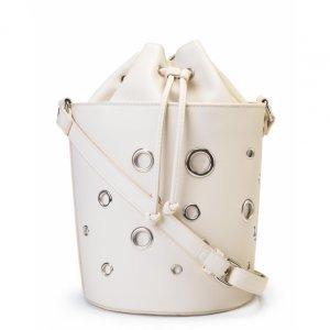 Bucket Bag With Eyelets