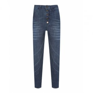 Calça Jeans Skiinny Botões
