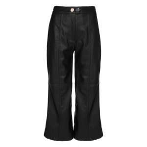 Calça Pantacourt De Leather