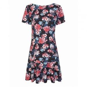 Short Dress Babados Estampa