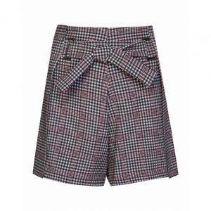 Shorts Saia Crepe Amarração