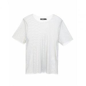 Camiseta Transparente Com Brilho