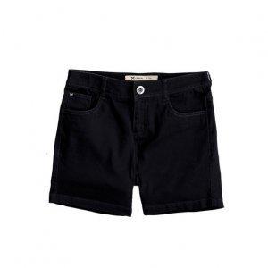 Shorts Feminino Básico Em Sarja De Algodão Com Elastano Hering