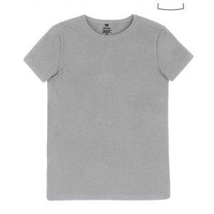 Blusa Feminina Básica Em Algodão E Elastano E Modelagem Slim