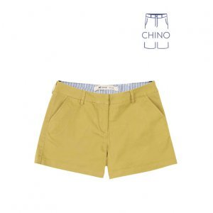 Shorts Feminino Básico Chino Em Sarja Hering