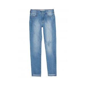 Calça Jeans Na Base Berlin Com Barra Assimétrica