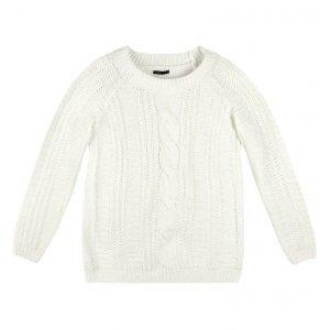 Sweater Oversized Em Tricô Trabalhado