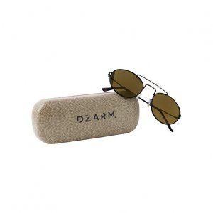Óculos De Sol Dzarm Em Metal Com Lente Arredondada