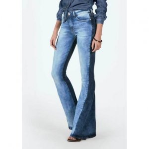 Calça Jeans Na Base Veneza Com Mix De Jeans