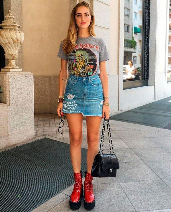 Saia Jeans - como usar do verão ao inverno