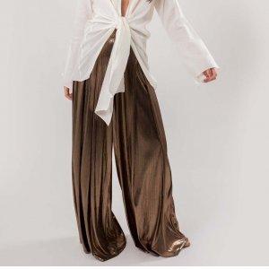 Pantalona Golden Tamanho: 38 - Cor: Dourado